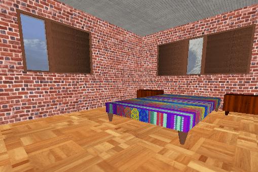 خانه سه بعدی 3D در سی شارپ و OpenGL