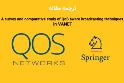 روش های انتشار آگاه از QoS