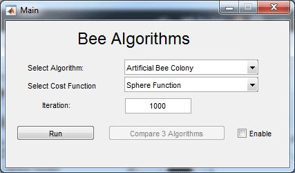الگوریتم زنبور عسل در متلب Bee algorithm