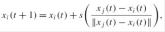 معادله حرکت زمان-گسسته ی کرم شب تاب