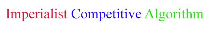 الگوریتم رقابت استعماری (ICA)