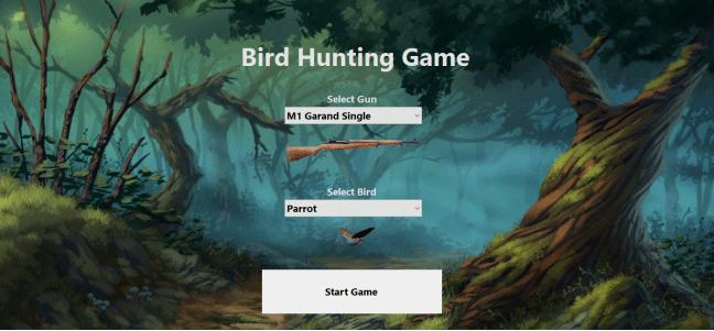 شکار پرندگان در سی شارپ