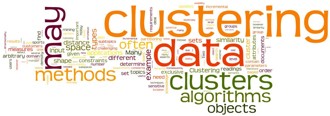 انواع خوشه بندی در داده کاوی