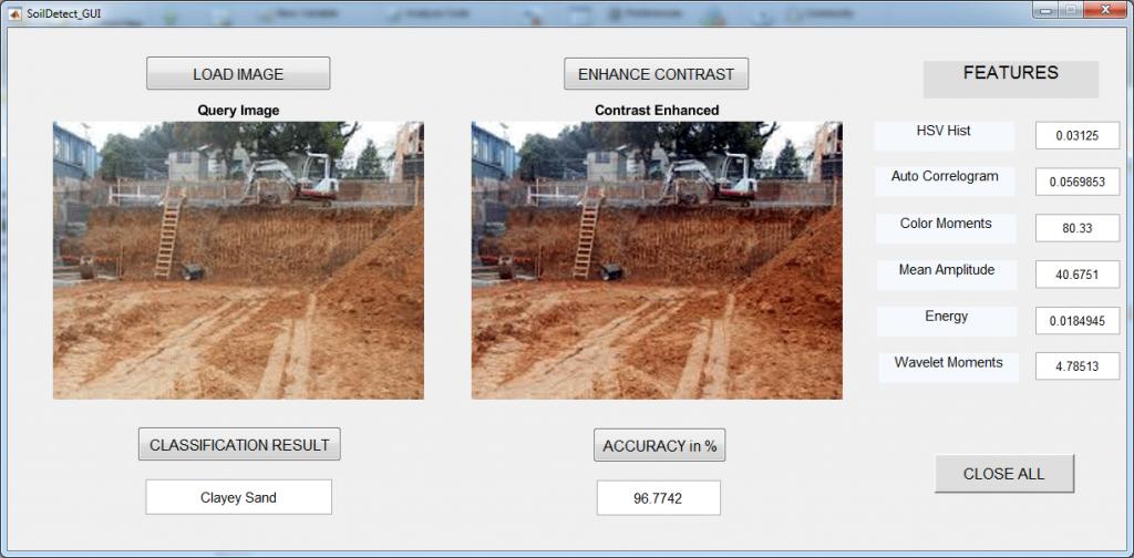 طبقه بندی خاک با الگوریتم SVM