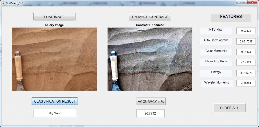 تشخیص انواع خاک با الگوریتم SVM