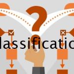 دسته بندی یا classification