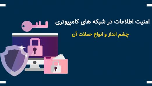 امنیت اطلاعات در شبکه های کامپیوتری | چشم انداز و انواع حملات آن