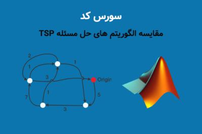 سورس کد مقایسه الگوریتم های حل مسئله TSP برای حل مسئله فروشنده دوره گرد TSP