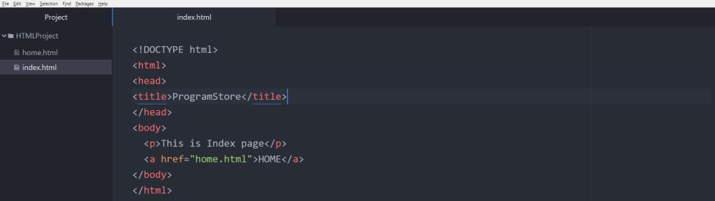 آموزش HTML تگ a