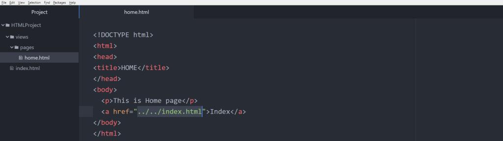 آموزش HTML تگ a و آدرس دهی و لینک href