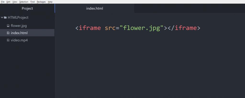 آموزش HTML خاصیت src در تگ iframe