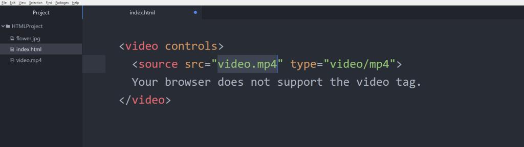 آموزش HTML مشکل تگ video