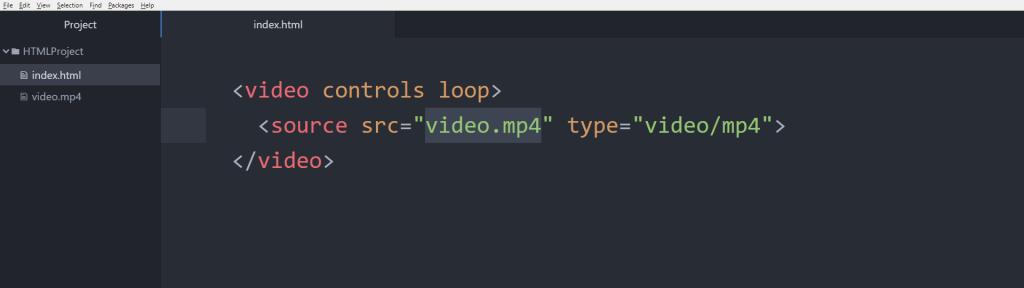 آموزش HTML تگ video