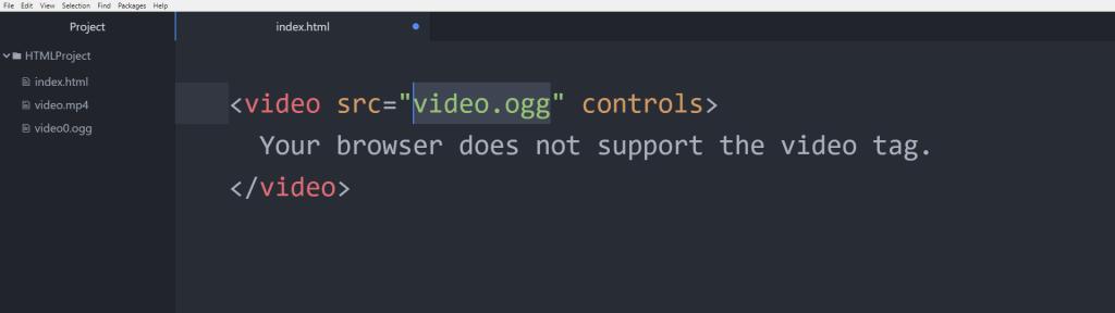 آموزش HTML نکته مهم درمورد تگ video