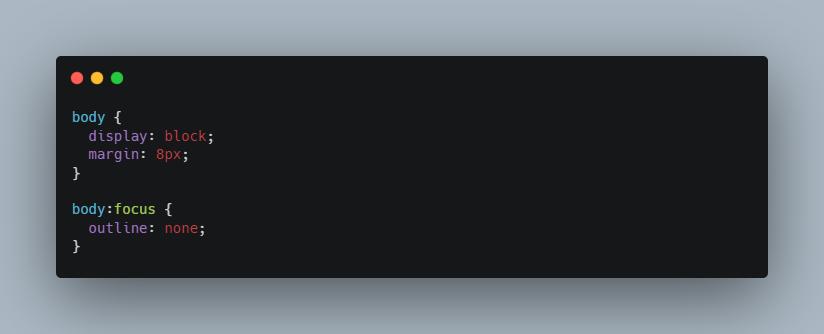 تگ body در html و استایل های پیش فرض آن