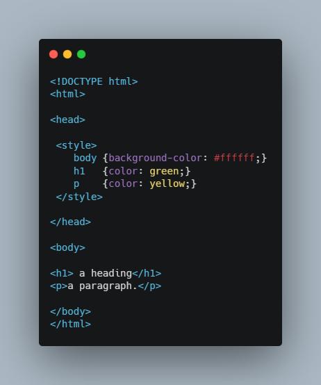 css در html تگ css تگ استایل