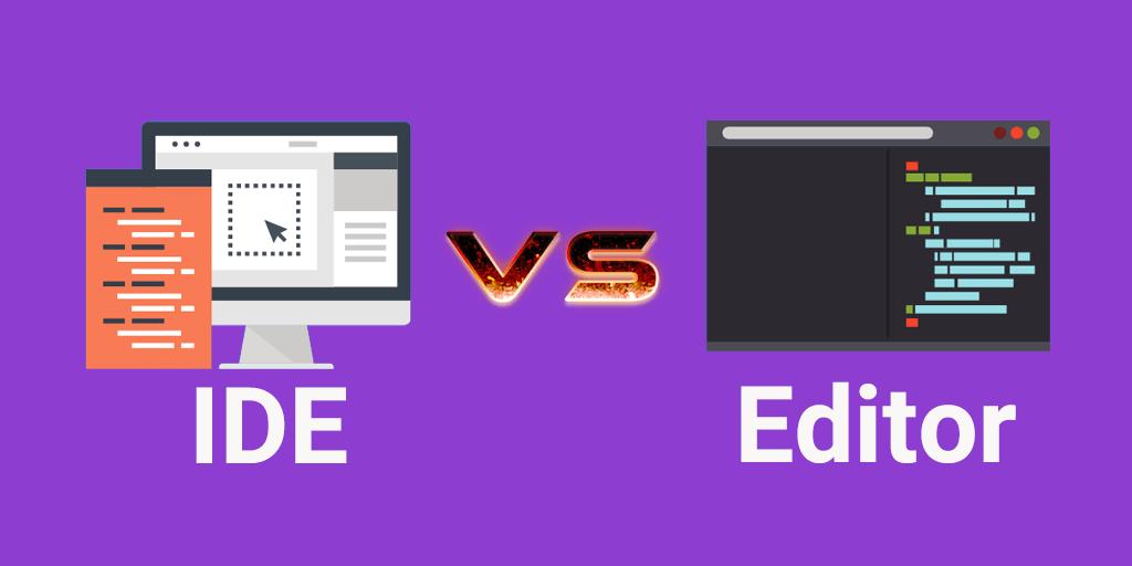 تفاوت IDE و ویرایشگر کد
