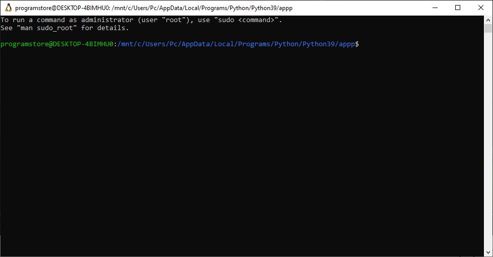 مراحل نصب Buildozer با Ubuntu Shell روی ویندوز