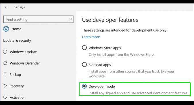 نصب Ubuntu Shell روی ویندوز