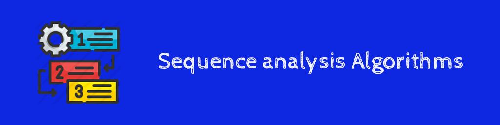 الگوریتمهای تحلیل ترتیبی Sequence analysis Algorithms