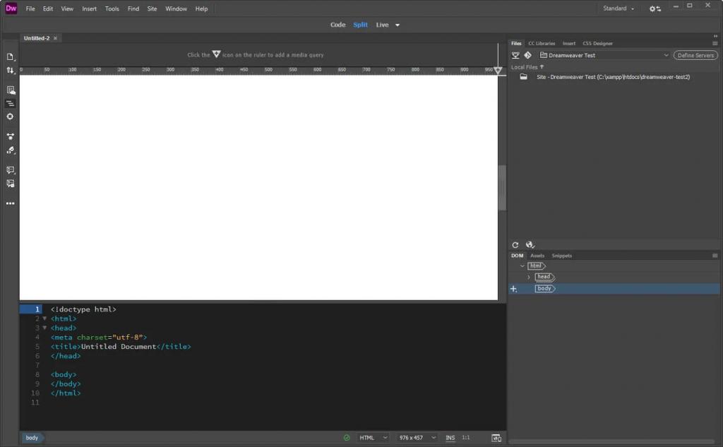 آموزش طراحی سایت با دریم ویور